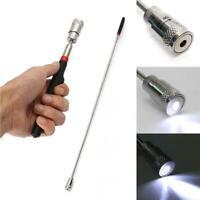 Portable Telescopic Magnetic Long Pen Pick Up Rod Tool Stick Extending S3L9