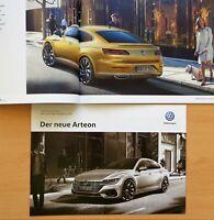 1949) VW Arteon 2017 Prospekt Katalog + Technik Preise Ausstattung Brochure