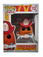 Funko Pop Ad Icons Mcdonalds Fireman McNugget 112 Collectible Vinyl Figure New