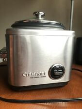 Cuisinart CRC-400 4 Cup Rice Cooker - Silver