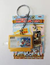 Nintendo Super Mario Game Sound Cassette Figure Key Chain BANPRESTO JAPAN