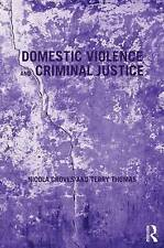 Domestic Violence and Criminal Justice, Very Good Condition Book, Thomas, Terry,