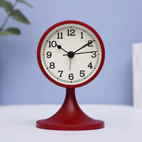 Simple Modern Alarm Clock Analog Clock with Stand 4 Colors for Home Office