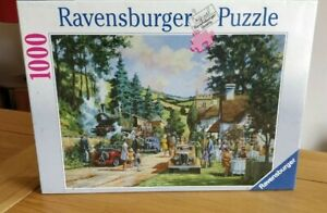 Jigsaw Puzzle RARE Brand New Wrapped  Ravensburger 1000 Pce Title Halt For Tea