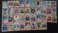 1982 Topps Philadelphia Phillies Team Set of 38 Baseball Cards