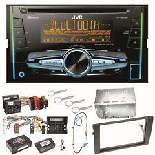 JVC KW-R920BT Autoradio CD USB Bluetooth Einbauset für Audi A4 B7 Seat Exeo