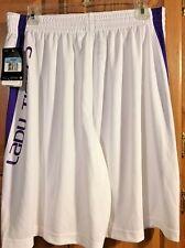 LQQK!!!!  NWT Women's College NIKE LSU Tiger Basketball NCAA Shorts 554701 M