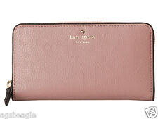 BID Kate Spade Wallet PWRU1801 Cobble Hill Lacey Makeup Pink Agsbeagle