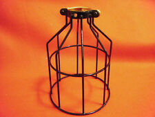 Black Bulb Guard, Clamp On Lamp Cage, Qty. 5, New