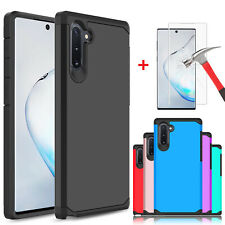 For Samsung Galaxy Note 10/10+ Plus 5G/S10 Case / HD Full Cover Screen Protector