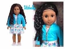 AMERICAN GIRL TRULY ME 67 Doll Dark skin, curly black-brown hair,brown eyes NEW