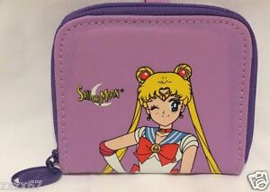NEW WITH TAGS SAILOR MOON COIN PURSE BAG PURPLE