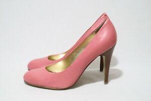 NINE WEST Size 7 Womens Leather Heels