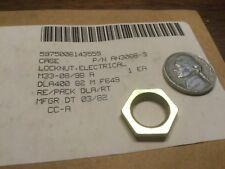 military electrical locknut lock nut AN3066-3 AN 3066 1/2-28  new threaded nut