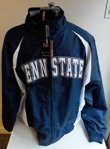 "COLOSSEUM ATHLETICS ""PENN STATE"" Zip Front Fleece Lined Jacket-Navy-SZ 2XL NWT"