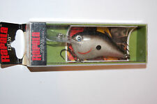 "older rapala dt-10 dt10 s silver dives to 10' bass crankbait 2 1/4"" 3/5oz insert"