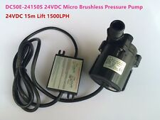 24V DC Micro Brushless Pressure Water Pump 50E-24150S 86W 15m Low Noise Powerful