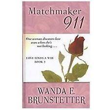 Matchmaker 911 (Thorndike Press Large Print Christian Romance Series) (Love
