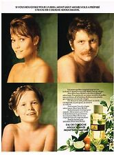 PUBLICITE ADVERSTISING  1973   MONT SAINT-MICHEL   eau de Cologne