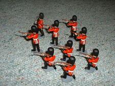 Britains DSG Herald Royal Guards firing line x 9