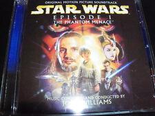 Star Wars Episode 1 The Phantom Menace Soundtrack Australian CD – Like New