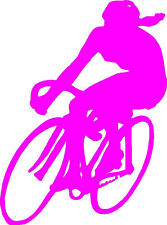 Cycle Girl Bicycle Racer Sticker/Decal/Graphic