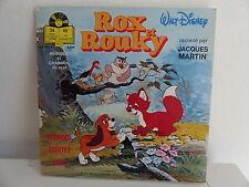 Livre disque BO Serie tv Dessin animé  Rox et Rouky JACQUES MARTIN LLP 383 F 550