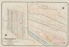 1913, CHARLES E. GOAD, MONTREAL, CANADA & CAR FOUNDRY CO.,REPRODUCTION ATLAS MAP