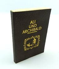 #e3175 IN PELLE MINI LIBRO: ali e Archibald 1. EDIZIONE 1984 con 47 immagini