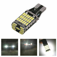 1× T15 W16W 45 SMD 4014 Error Free LED Car Reverse Back Light Bulbs 6000K White