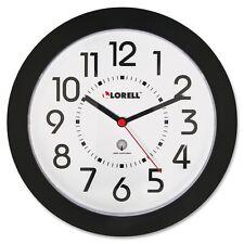 Lorell Radio Controlled Wall Clock - Analog - Quartz - Atomic