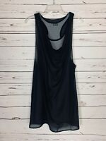 Sparkle & Fade Urban Outfitters Women' Sz S Small Black Spring Summer Tunic Top
