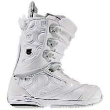 Great Burton Women's Sapphire Snowboard Boots w/inner Heat system White Gray 6