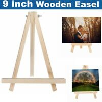 Mini Artist Wooden Table Top Easel Wedding Picture Stand Display Tripod Holder