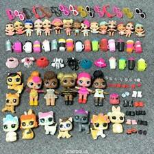 Lot 100 Pcs LOL Surprise Doll Queen bee Lil Sisters Pet & outfit dress shoes toy
