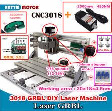 3 Axis DIY 3018 2500mw Laser Machine Engraver Milling Mini Desktop CNC Router