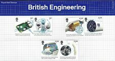 2019 GB QE2 COMMEMORATIVE STAMP PRESENTATION PACK NO 570 BRITISH ENGINEERING