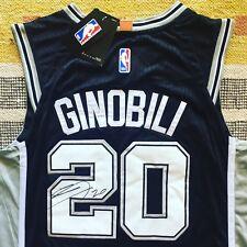 Manu Ginobili Signed Autograph San Antonio Spurs Jersey NBA Argentina