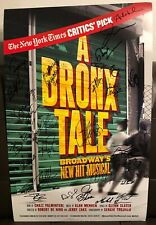A Bronx Tale Broadway Cast Signed Poster 14X22