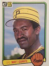 1983 Donruss #423 Cecilio Guante Pittsburgh Pirates Rookie Baseball Card