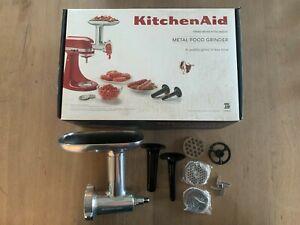 Metal Food Grinder Attachment for KitchenAid Stand Mixer KSMMGA