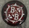 Warhammer Fantasy Battle Warhammer World Exclusive Blood Bowl Logo Pin Badge New