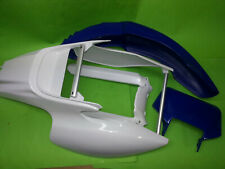 Yamaha TT600R TT600RE TT 5CH Heckfender Schutzblech weiß Fender Lampenmaske blau