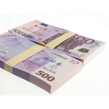 €500 Euro Scheine SPIELGELD Play Money EUROscheine Geld Geldscheine 100 Stück