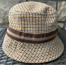 Stetson Bucket Hat Orange Multicolored Medium Brand New Without Tags USA Made!