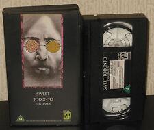 JOHN LENNON Sweet Toronto 1969 Live VHS Plastic Ono Band Yoko Ono Beatles