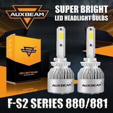 AUXBEAM 880 881 LED Head Light Fog Bulb Conversion Kit 6500K 72W 8000LM Bright