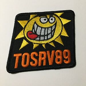 Tour Of The Scioto River Valley TOSRV Collectible Iron On Patch OH Vintage 1989