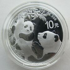 China 2021 Panda Commemorative Silver 30g Type
