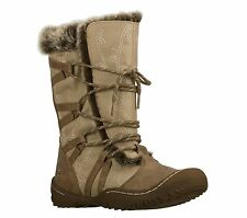 Skechers Spartan Echo Womens Boots Taupe 6 SHOES